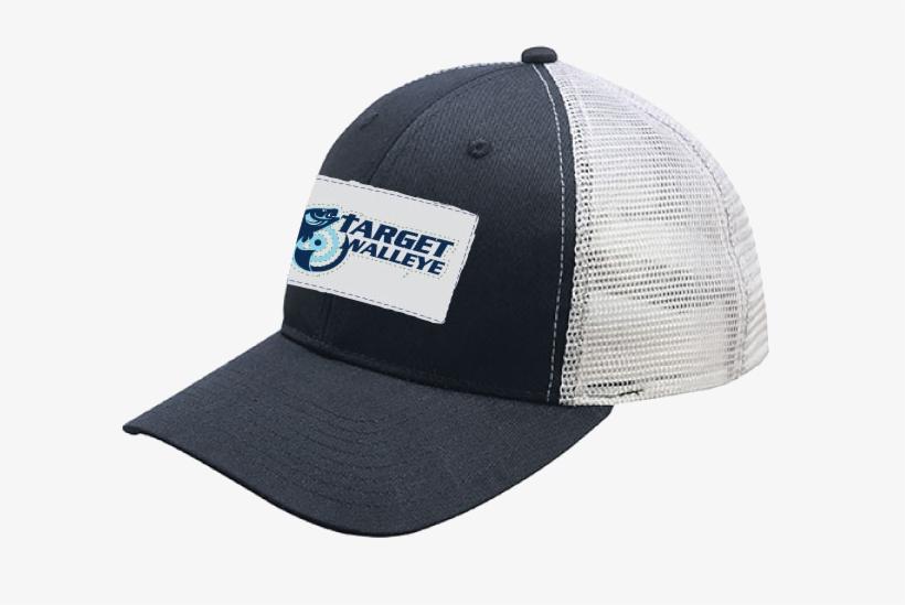 Target Walleye Patch Trucker Cap - Simms Patch Trucker Cap, transparent png #5691507