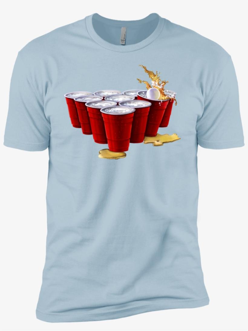 Next Level Premium Short Sleeve T Shirt Beer - Tie Dye Dog Premium T-shirt, transparent png #5691705
