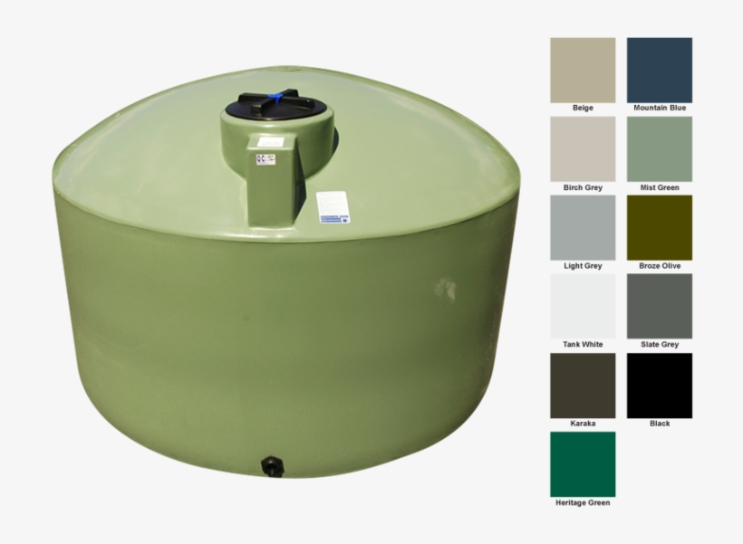 Bailey Water Tank 9,000l Mist Green - Water, transparent png #5695637