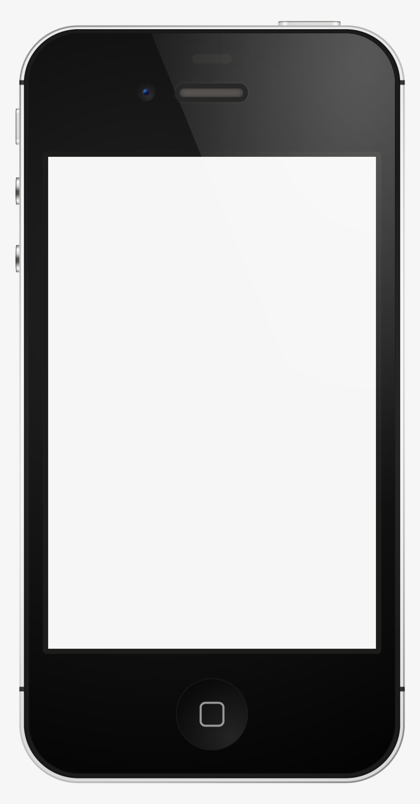 Iphone Template More - Iphone 4 Png Template, transparent png #570099