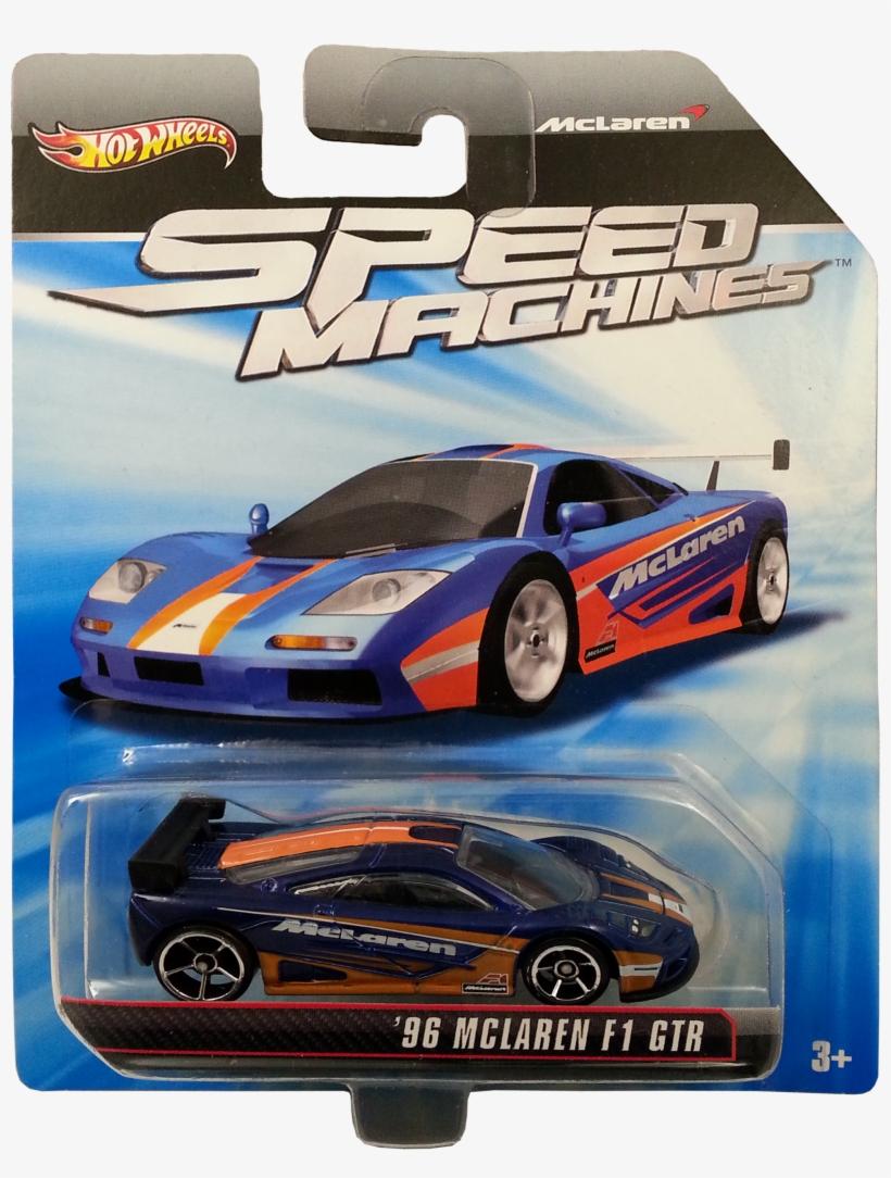 '96 Mclaren F1 Gtr Package Front - Hot Wheels Speed Machines Mclaren F1 Gtr, transparent png #570147