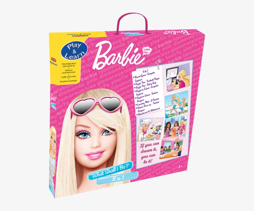 8 In 1- What Shall I Be - Sterling 8 In 1 Barbie, Multi Color, transparent png #571140