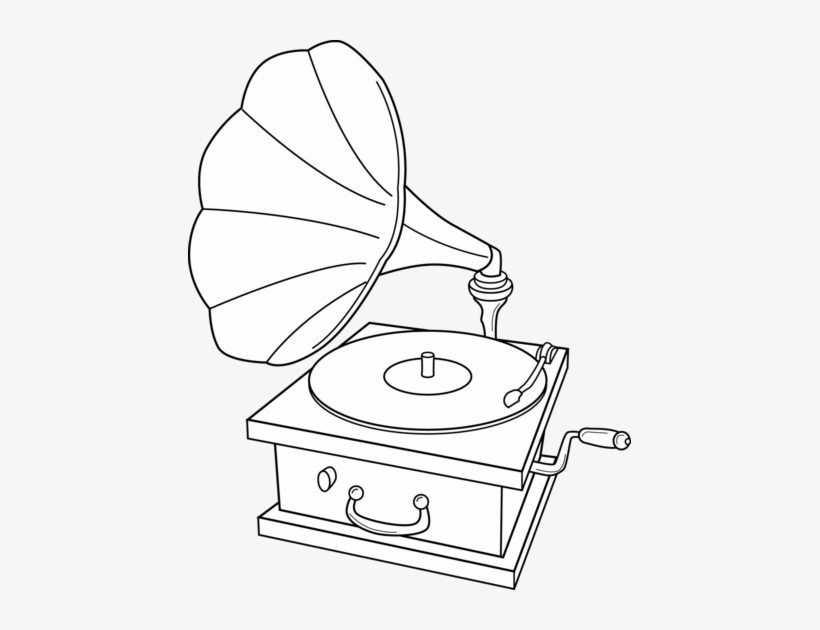 Record Player Clip Art By J