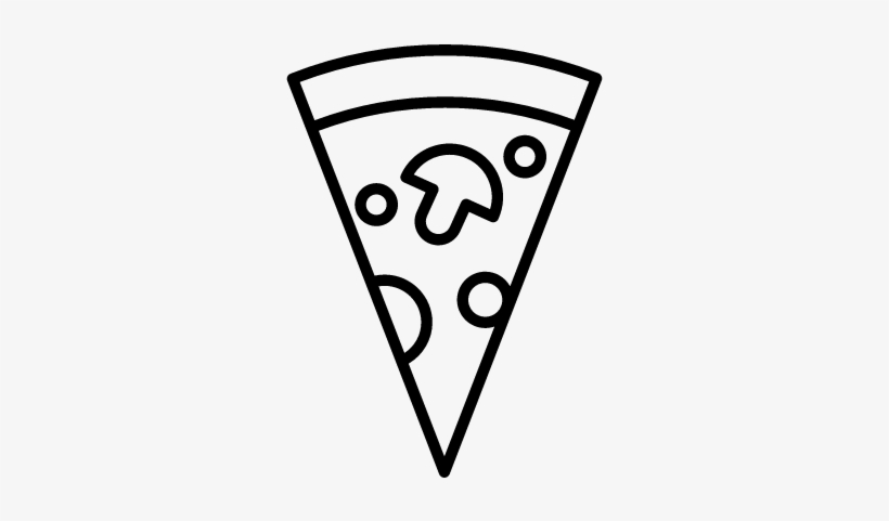 Medium Pizza Slice Vector - Pizza Slice Icon Png, transparent png #575791