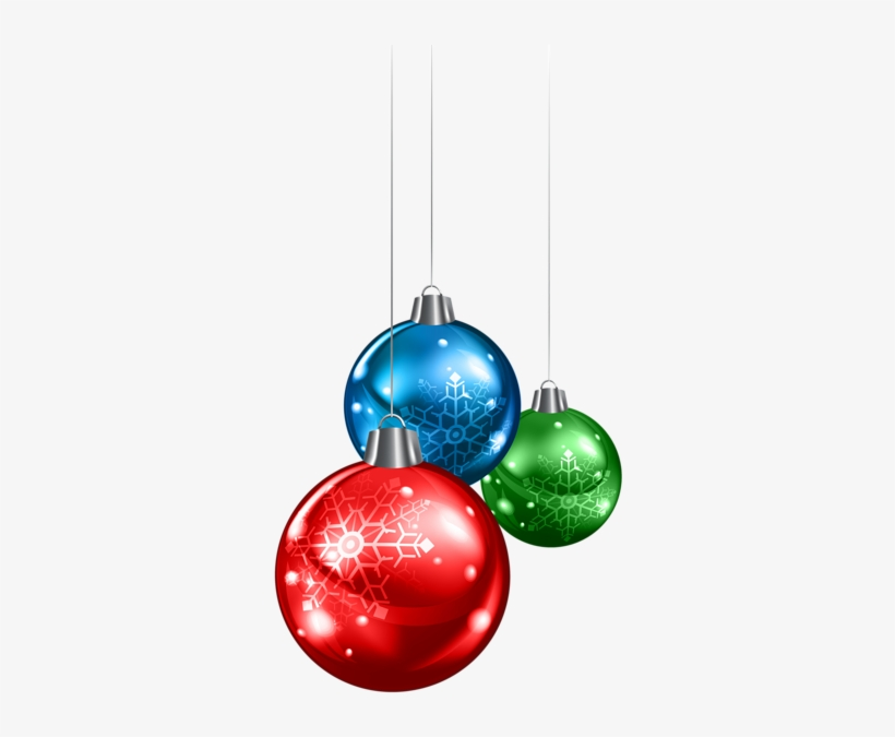 Light Blue Clipart Ornament - Christmas Balls Png, transparent png #576599