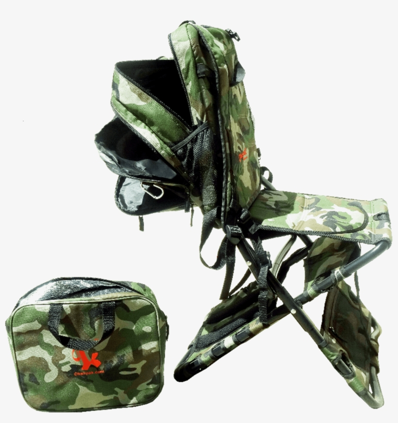 Texas Travel Chairs Images Chair Pak The World 39 S - Chair-pak - The Camo Chair-pak, transparent png #5701598