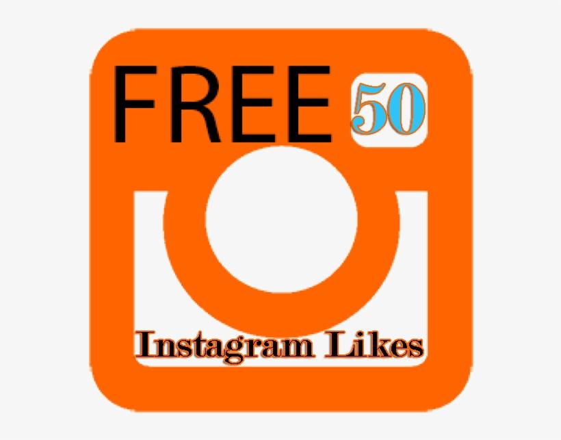50 Free Instagram Likes - Free Hosting Logo Png - Free Transparent