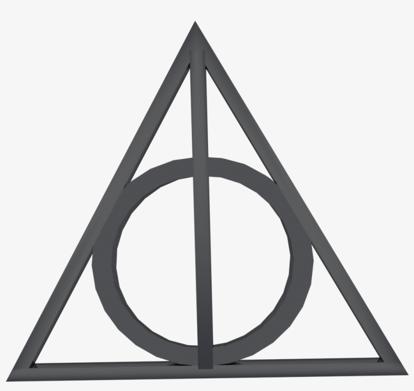 Printable Deathly Hallows Symbol, transparent png #5708362