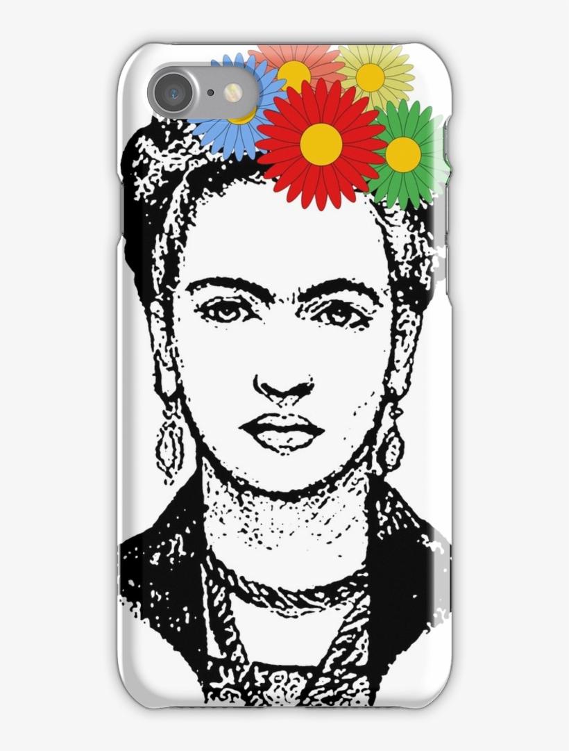 Frida Kahlo Iphone 7 Snap Case - Mobile Phone Case, transparent png #5708794