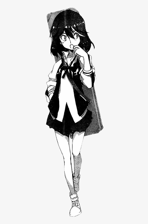 Transparent Matoi Ryuko Kill La Kill Manga Art Free