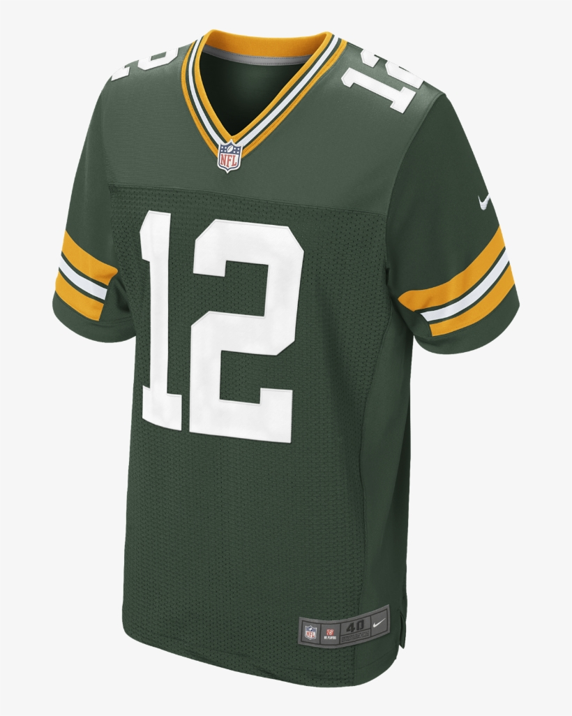 Nike Nfl Green Bay Packers Men's Football Home Elite - Packers Elite Jersey, transparent png #5718277