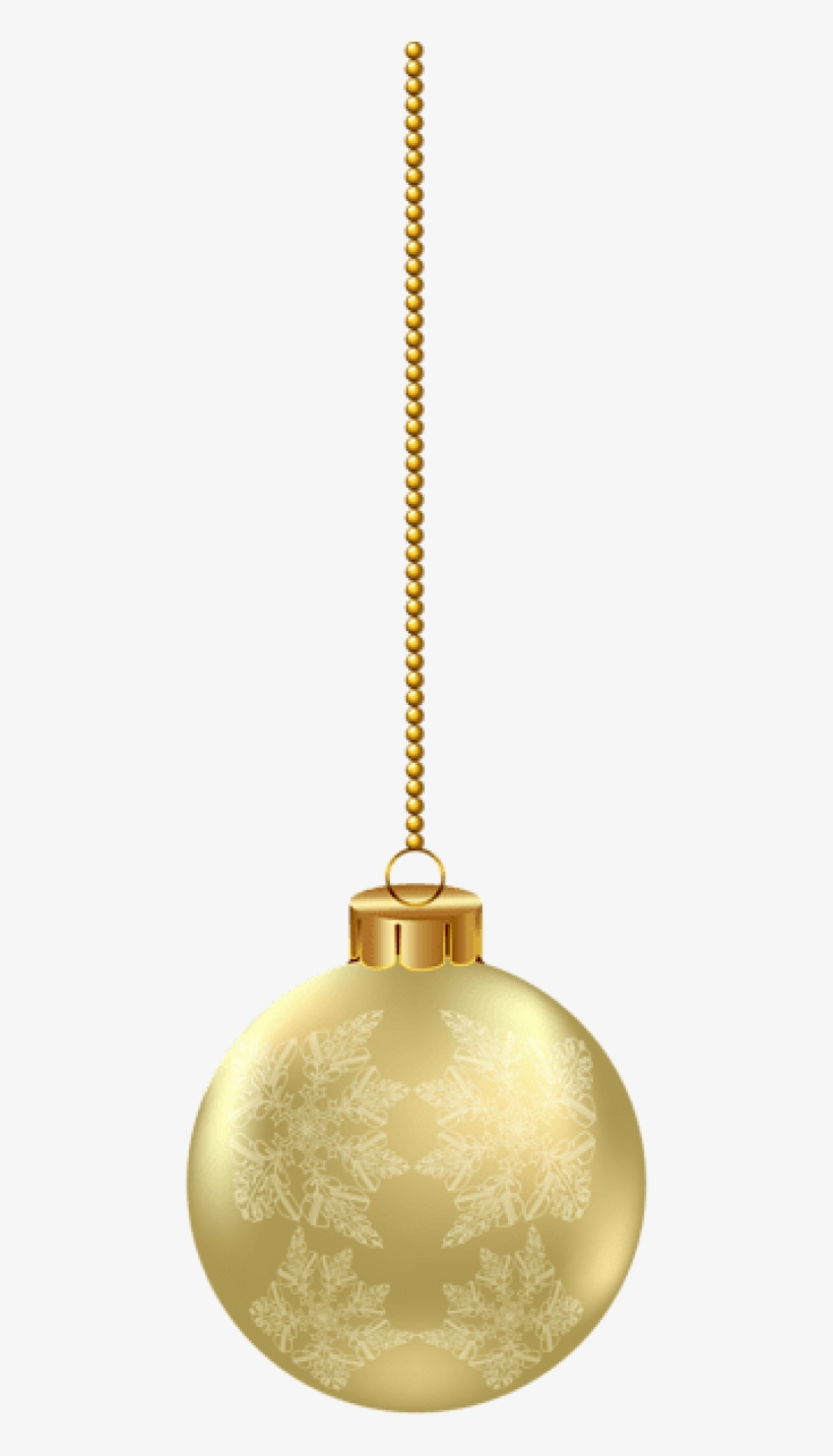 Free Png Hanging Christmas Ornament Png Images Transparent - Hanging Christmas Ornament Png, transparent png #5720505