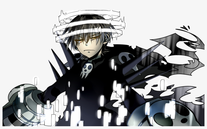 Keep Calm And Hunt Witches Ariadusts - Death The Kid Shinigami Form, transparent png #5728680