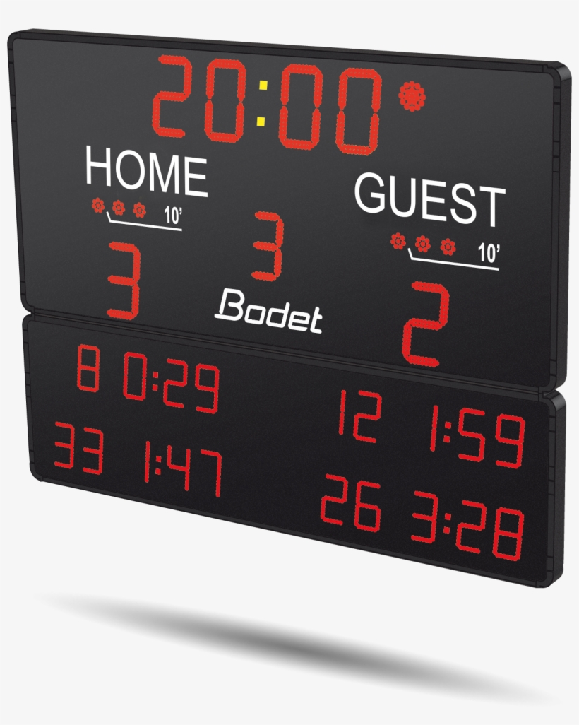 Hockey Scoreboard Btx6125 Hk - Ice Hockey Scoreboard, transparent png #5732732