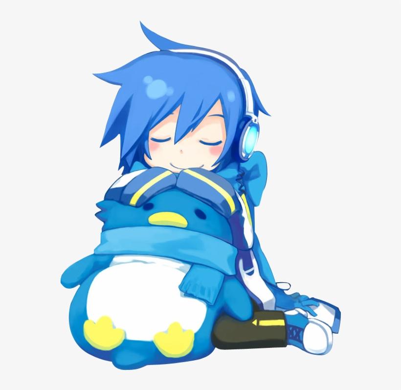 Vocaloid Kaito - Vocaloid Kaito Chibi Png, transparent png #5733582