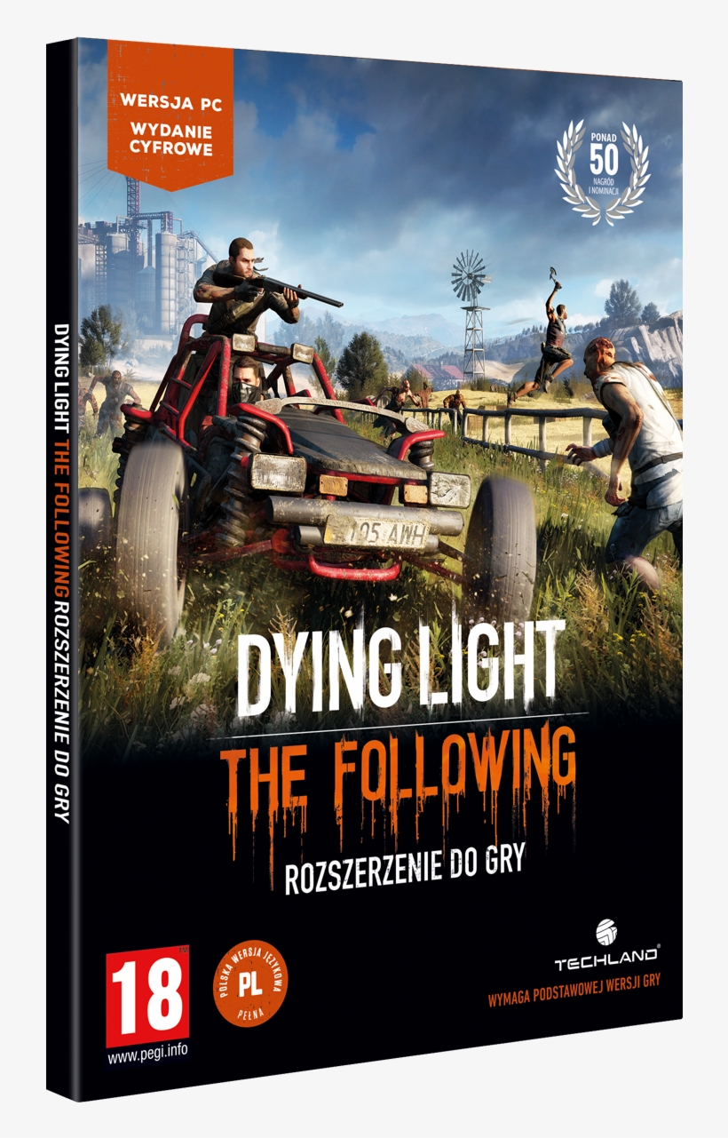Gra Dying Light - Dying Light The Following Enhanced Edition Xbox One, transparent png #5746675
