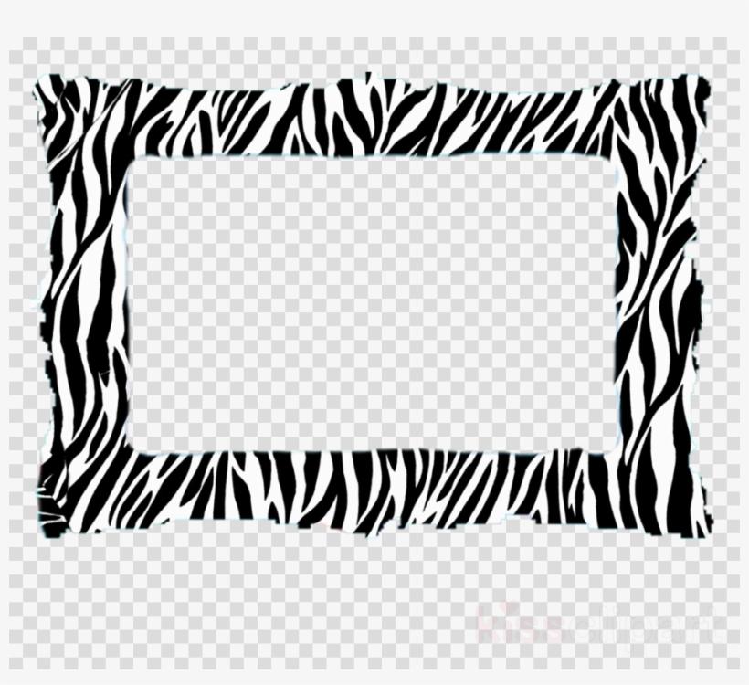 Cafepress Zebra Print 5'x7'area Rug Clipart Zebra Pillow - Zebra Print Black/white Soft Padded Mouse Pad, transparent png #5753335