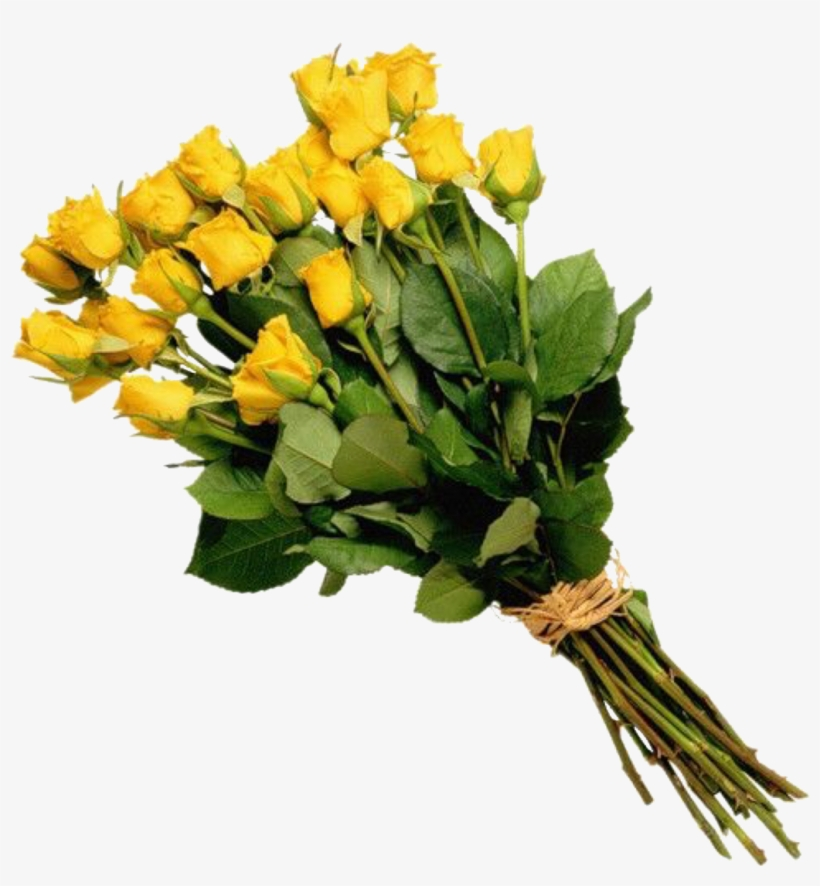 Yellow Roses, Flowers Gif, Buy Flowers, Bouquet, Tags, - Bouquet Of Flowers Png, transparent png #5764322