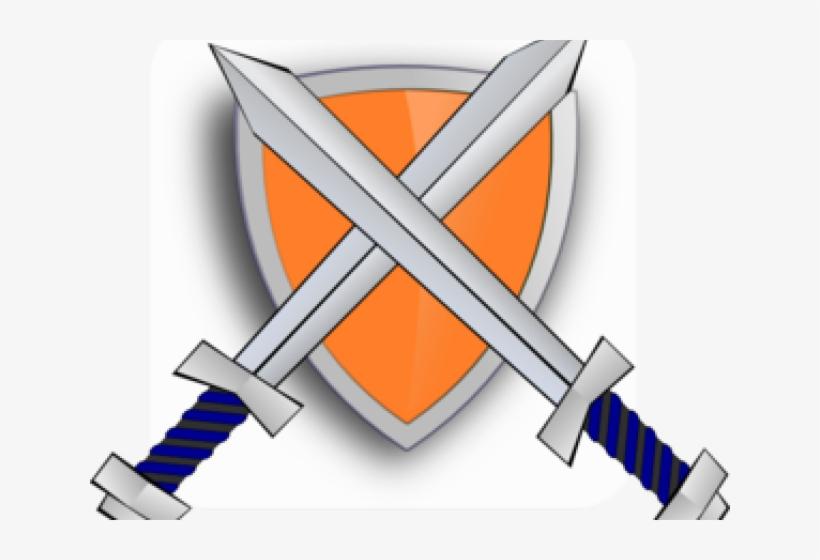 Sword cartoon. Clipart shield and free