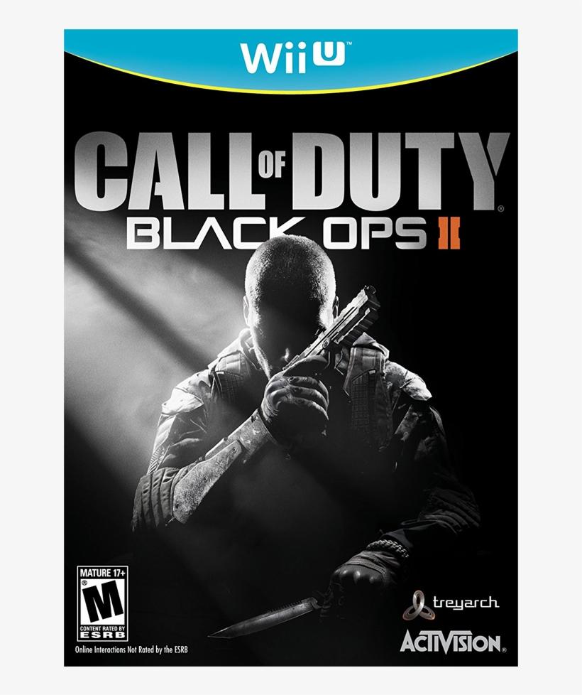 Call Of Duty Black Ops 2 - Call Of Duty Black Ops 2 Wii U, transparent png #5770213