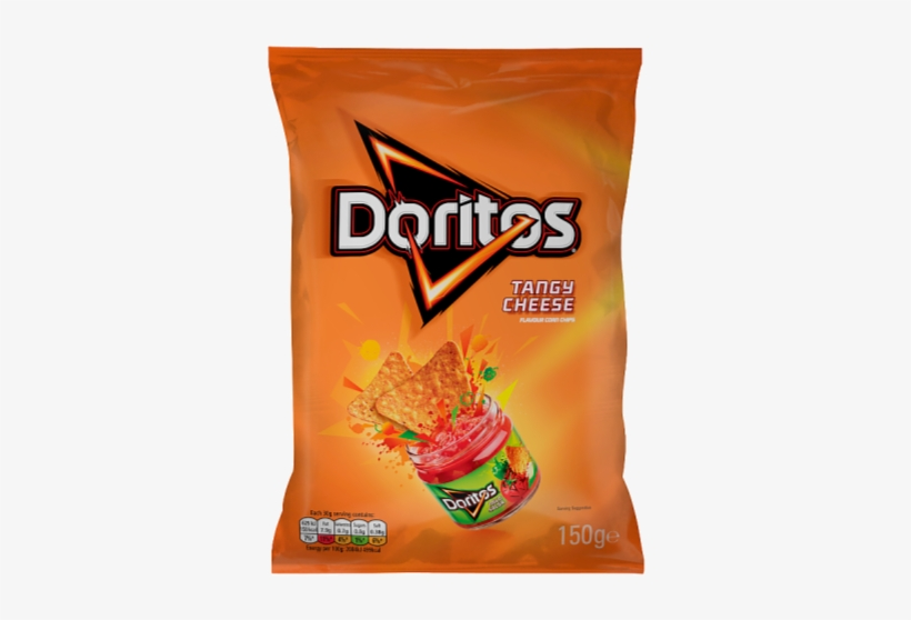 Doritos Tangy Cheese 150g - Doritos Tangy Cheese, transparent png #580755