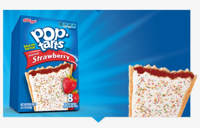 Yes, There Is A Wine That Can Stand Up To The Crumbly - Confetti Cupcake Pop Tarts, transparent png #580898