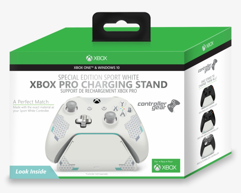 Controller Gear Sport White Special Edition Xbox Pro - Xbox Controller Sport White Special Edition, transparent png #581588