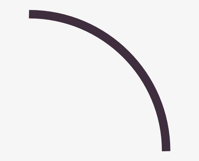 Line curved. Banner transparent download free