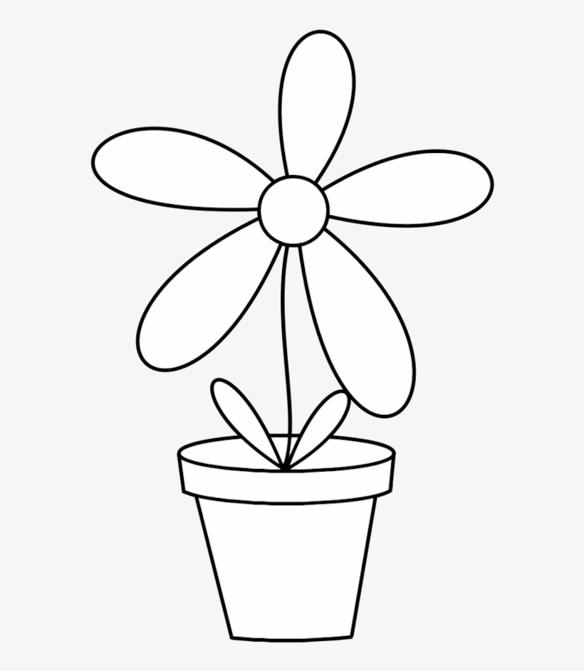 Picture Free Stock Awesome Pots Ensign Best Evening - Flower Pot Png Black And White, transparent png #584410