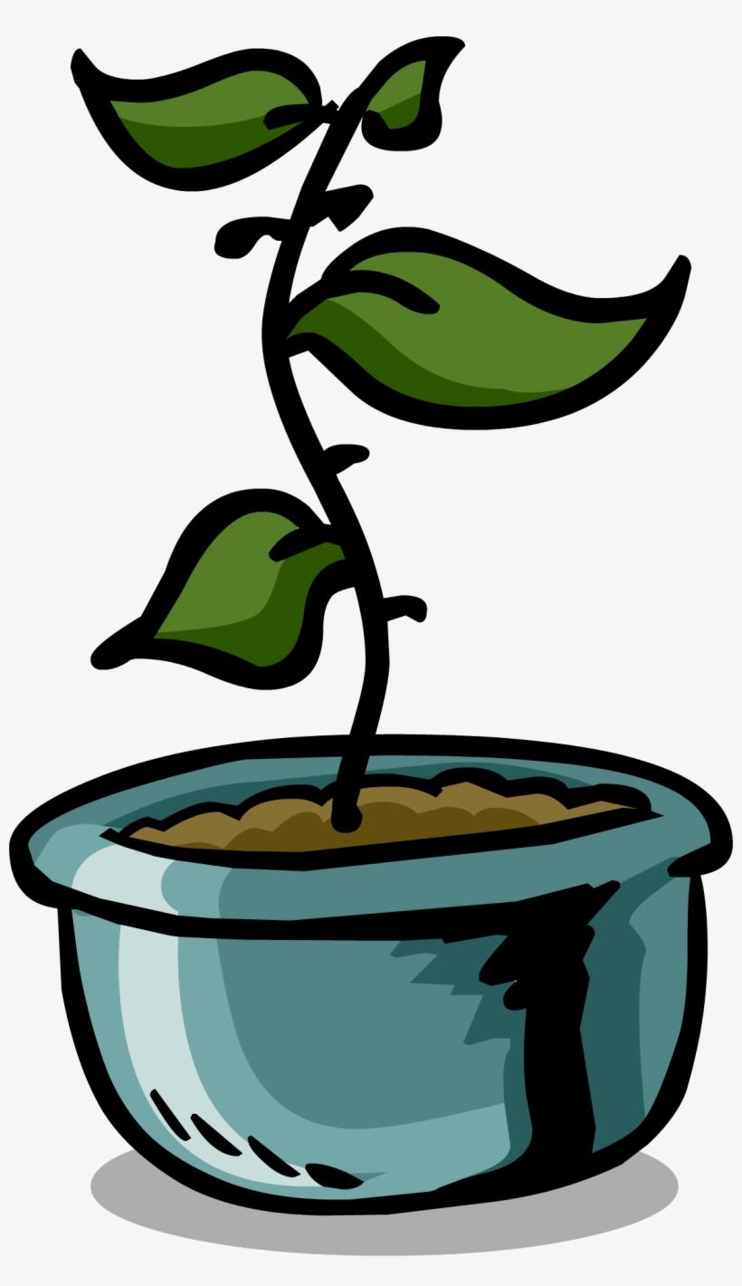 Rare Flower Pot Sprite 004 - Sprite Flower Pot, transparent png #584602