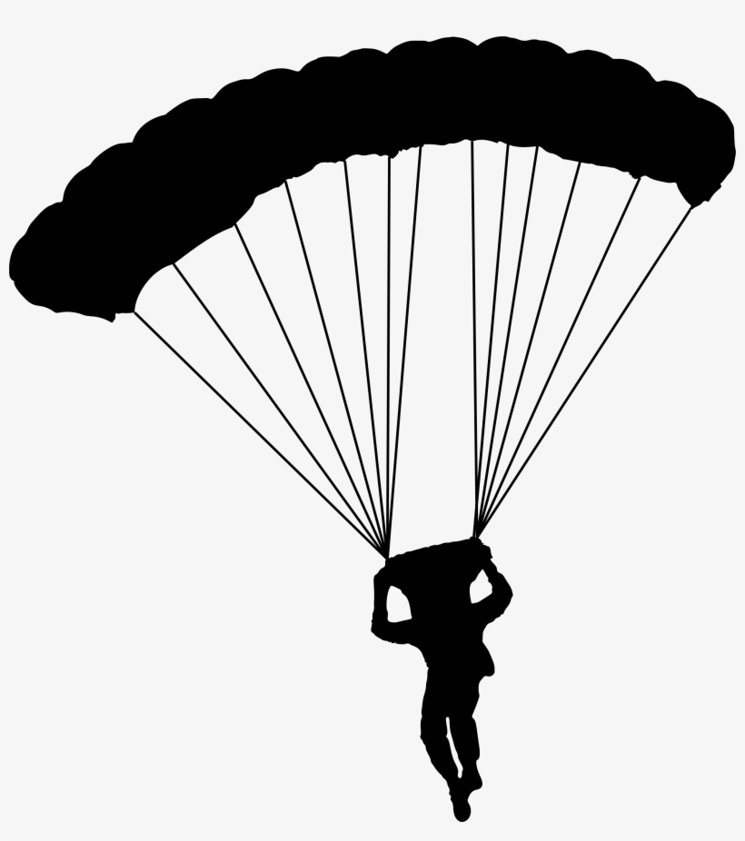 Cartoon Parachute Png Graphic Royalty Free Library - Parachute Clipart, transparent png #584656