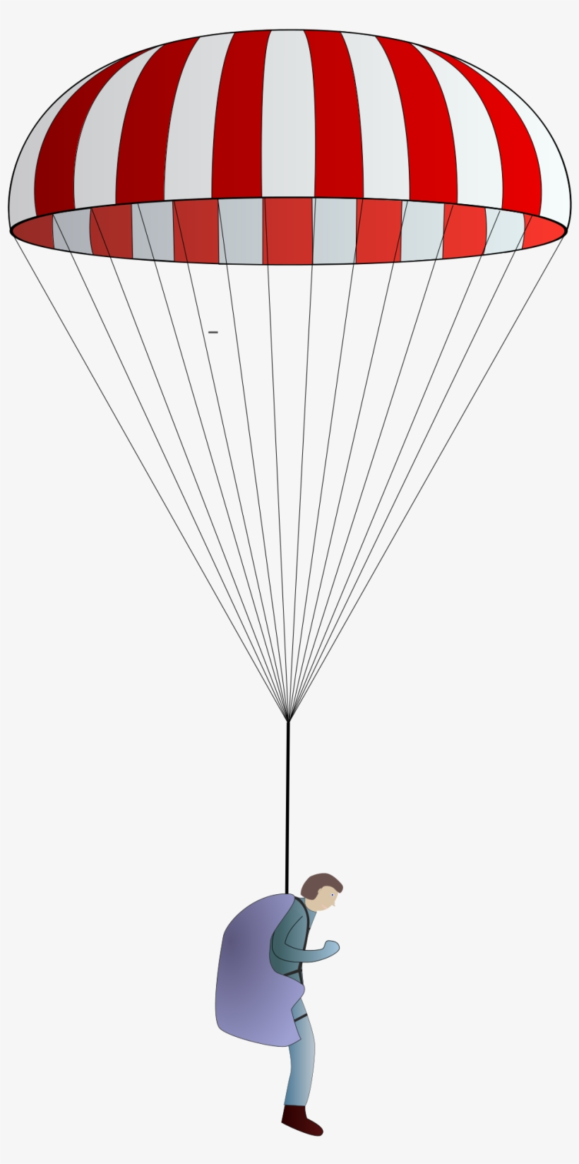 Open - Parachute Png File, transparent png #584740