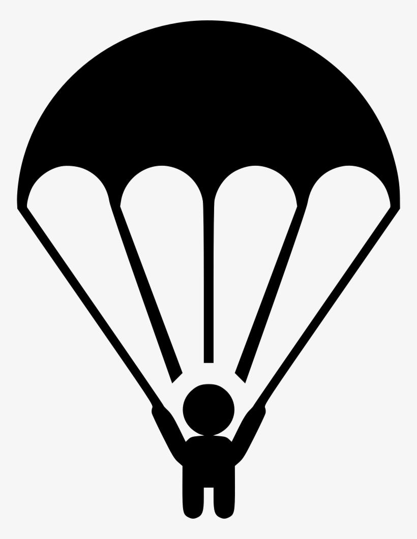 Svg Free Download Onlinewebfonts - Parachute Png, transparent png #584766