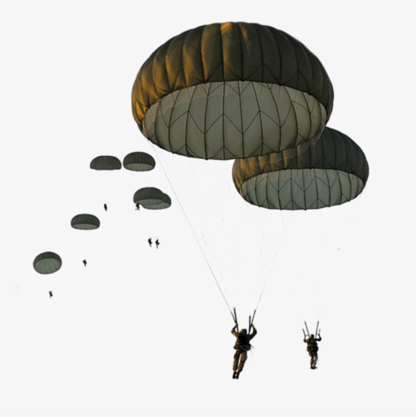 Milit R Fallschirmspringer Truppenschule - Parachute Army Png, transparent png #584905
