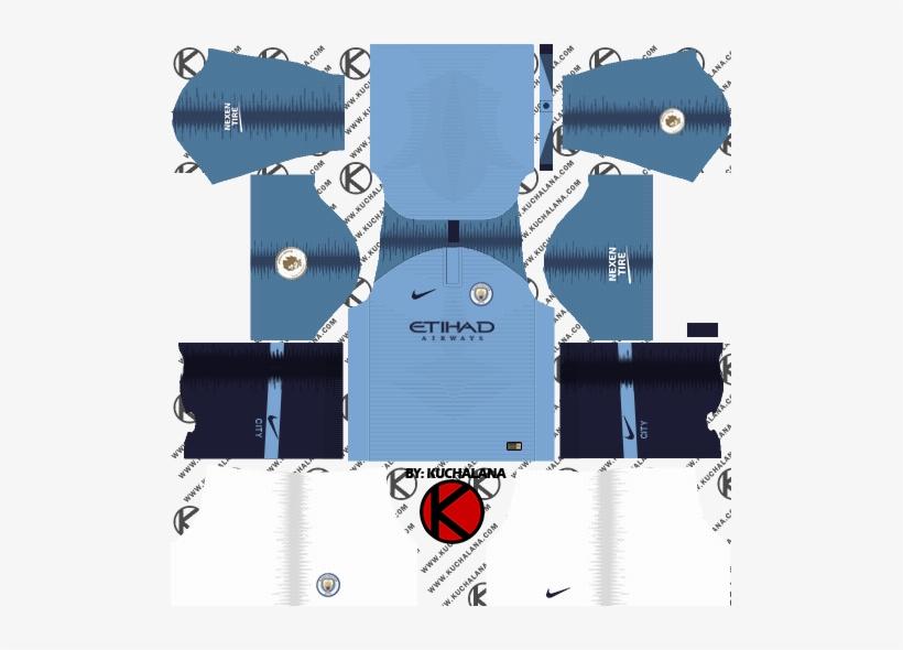 Manchester City 2018/19 Kit - Kit Psg Dream League Soccer