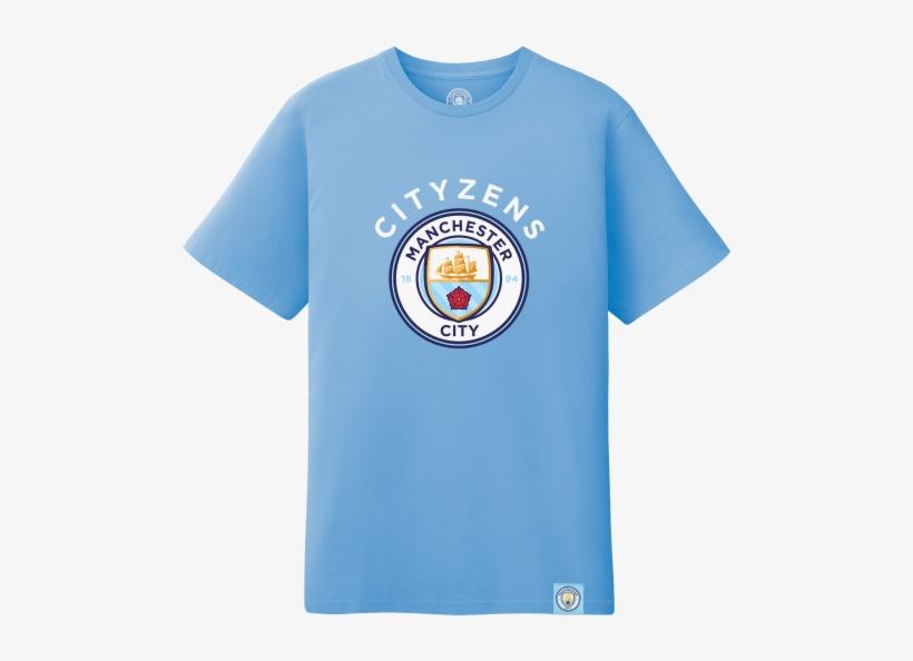 uk availability 19a83 0336f Manchester City Cityzens Logo T-shirt - Club Branded ...