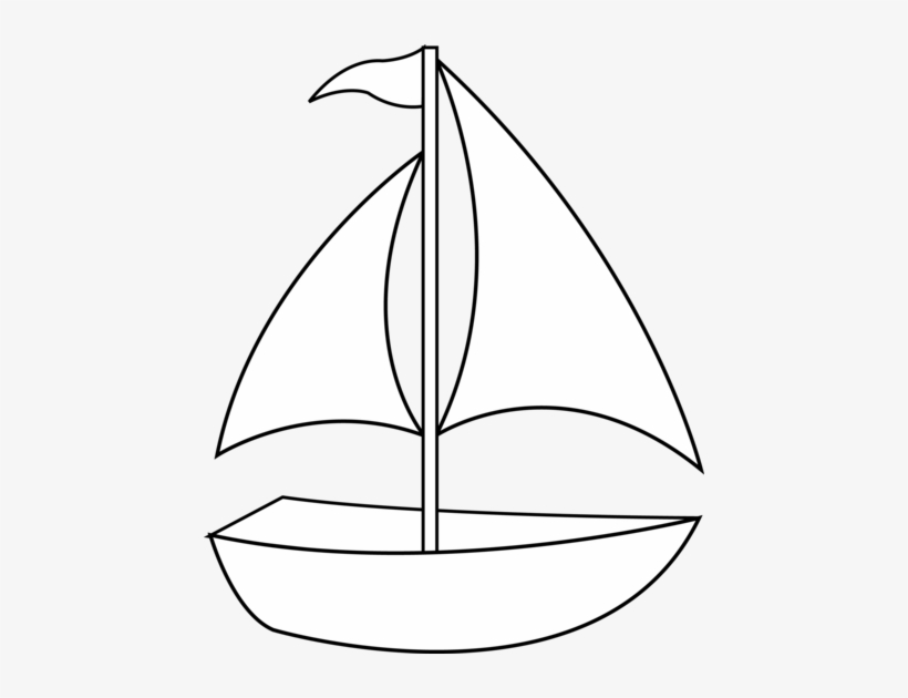 Clipart Best - Small Sail Boat Clipart, transparent png #587359