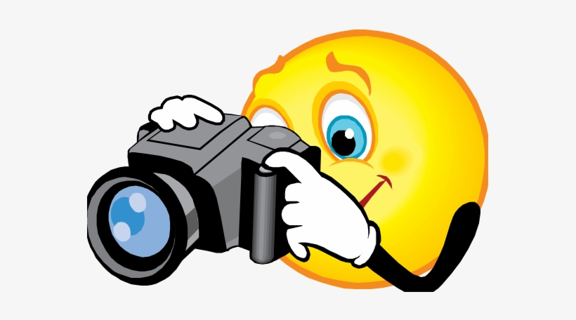 Hire A Professional Photographer If Possible Not - Smiley Camera - Free Transparent PNG Download - PNGkey