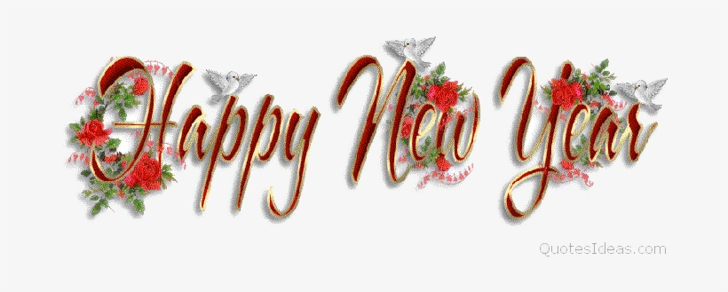 New - New Year 2017 Wishes Gif, transparent png #588472