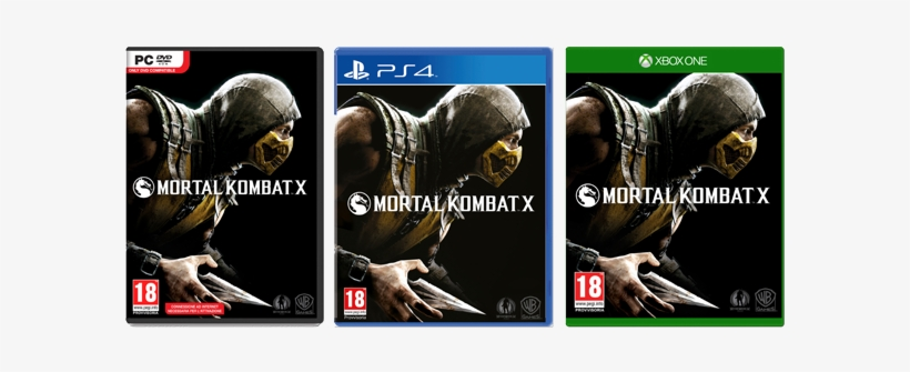 Mkx Box Art - (pre-owned) Mortal Kombat X Xbox One Game, transparent png #588607