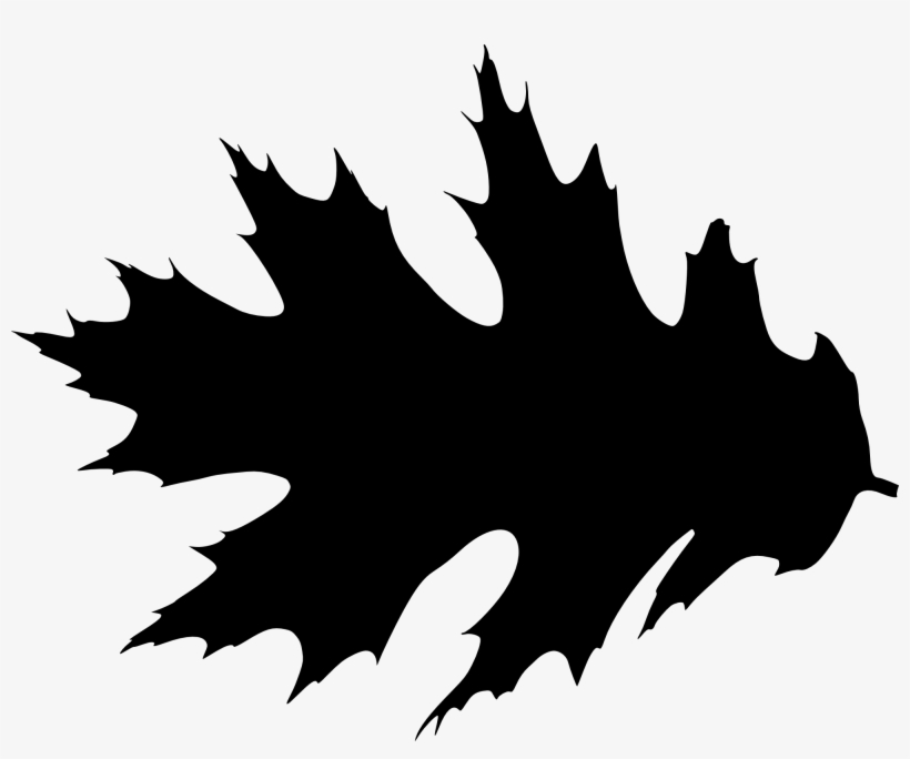 Free Download - Leaf Silhouette Clipart, transparent png #588753
