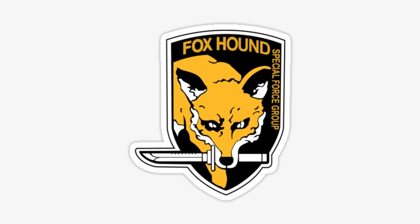 Metal Gear Alert Png - Metal Gear Solid Foxhound Logo, transparent png #588776