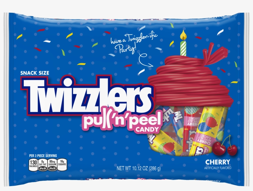 Twizzlers Pull-n-peel Candy, Watermelon - 14 Oz Bag, transparent png #5800147