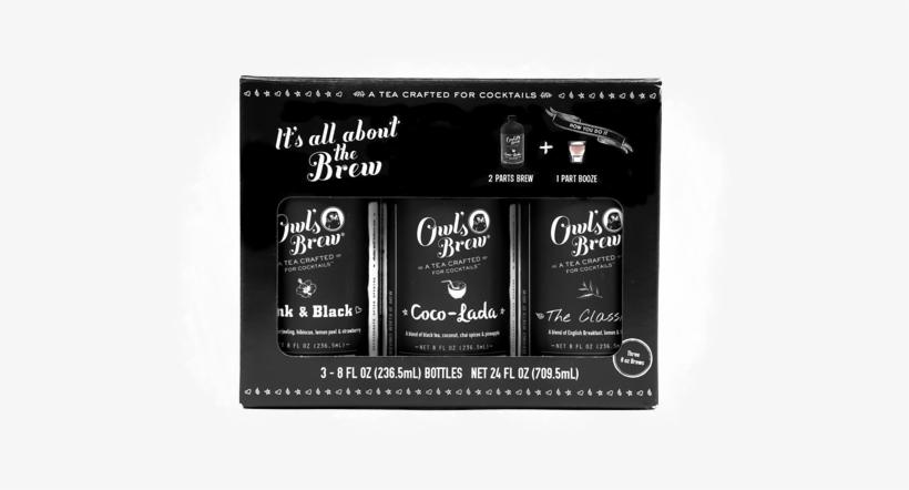 Img - Owl's Brew Coco Lada Cocktail Mix Tea - 8 Fl Oz Bottle, transparent png #5804779