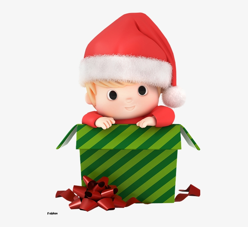 Christmas Baby Boy Clip Art - Baby Santa Claus Clipart, transparent png #5807951