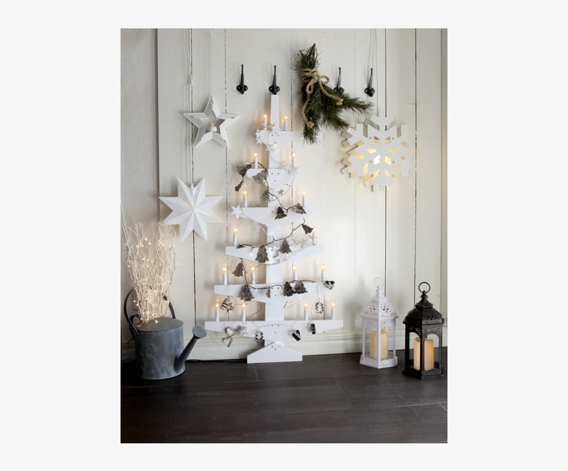Outdoor Decoration Walter - Wooden Trees - Led String Lights Nature Tree, transparent png #5813757
