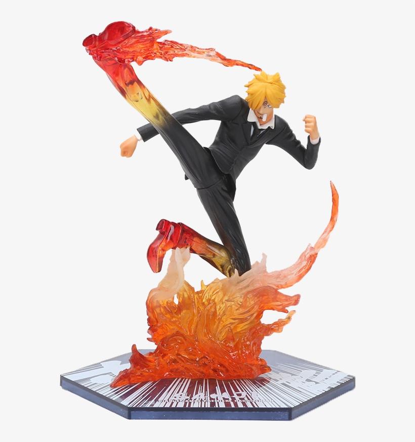 Anime One Piece Figure Sanji Action Figure Figuarts - One Piece Germa 66 Figure, transparent png #5814553