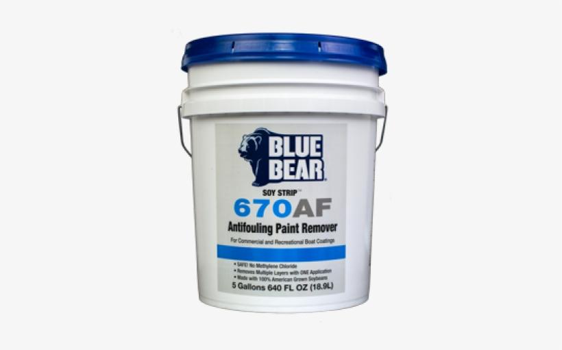 Blue Bear 670af Soy - Blue Bear 300re Asphalt Remover 5 Gallon, transparent png #5820237