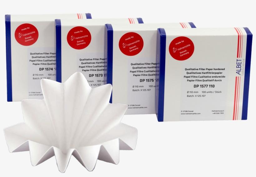 Kalitatif Filtre Kagidi Sertlestirilmis Katlanmis2 - Filter Paper, Quantitative, Wet-strength, Round Filters, transparent png #5821561