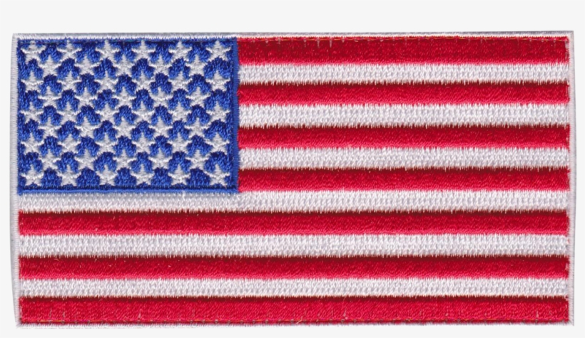 Usa Flag Patch - American Flag Embroidery Designs, transparent png #5823782